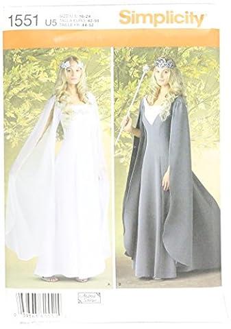 Usa Costume Pour Kid - Simplicity us1551u5Taille U5Patrons costumes pour