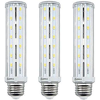 Lampada tubolare e27 35w led luce naturale 4000k 3500 for Lampada tubolare led