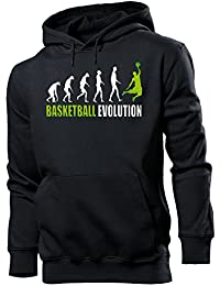 Sport - BASKETBALL EVOLUTION Cooler Comedy Homme Sweats à capuche Small - XX-Large