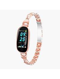 SZHAIYUS 2019 Nueva Señora Femenina Reloj Inteligente Pulsera Monitor de Ritmo Cardíaco Presión Arterial Ciclo fisiológico