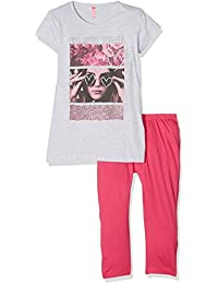 Lina Pink Ef.Boho.Pco.Mz, Ensemble de Pyjama Fille