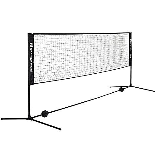 Songmics Tennis Badminton Net Foldable International Standard for Singles 500 x 155 cm SYQ500H Test