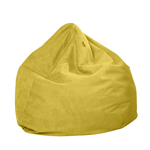 Homyl Sitzsackhülle ohne Füllung, Riesensitzsack Sitzsack Bezug Hülle aus Polyester - Grün
