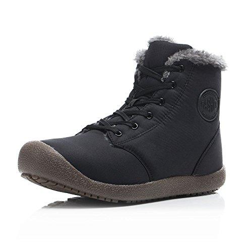 FLARUT Botas de Nieve Botines Calientes Zapatos de Invierno Zapatos Ca