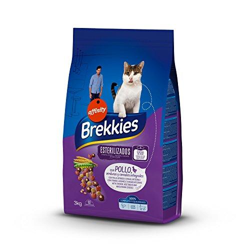 Brekkies Pienso Gatos Gatos Esterilizados Pollo Verduras