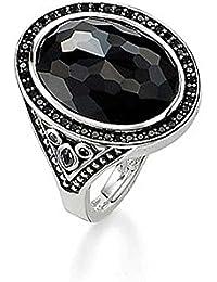 Thomas Sabo ring black TR2109-643-11-54 Thomas Sabo 7MWHWR