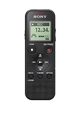 Enregistreur Audio Numerique - Sony ICD-PX370 Dictaphone numérique 4GB avec slot