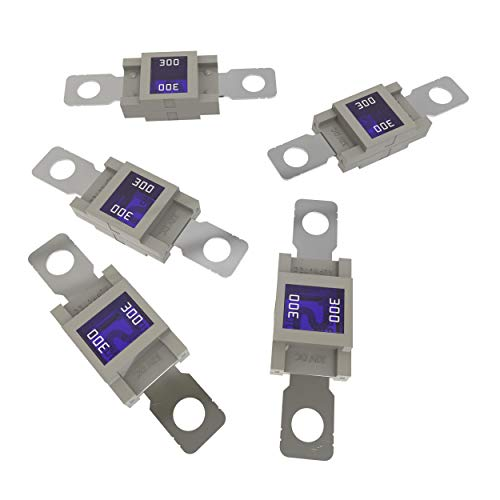 Auprotec® MEGA fusibile ad alta corrente avvitarsi 100A - 300A selezione: 300A Ampere griggio, 5 pezzi