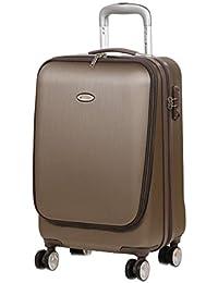 Valise cabine pas chère Snowball Xtra-Lite 55 cm Beige