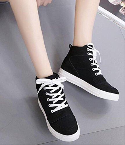 Scarpe Casual Womu's Canvas Casual alla moda Scarpe classiche aumento delle scarpe classiche 1