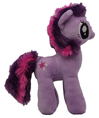 Pony Pferd 17cm Plüschfigur, Kuscheltier für Kinder, Mädchen und Jungen, zum Sammeln, Kuscheln und Spielen (Twilight Sparkle, lila) ()