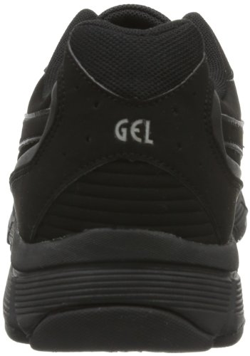 Asics GEL-MISSION Q157Y Damen Walkingschuhe Schwarz (BLACK/ONYX/CHARCOAL 9099)