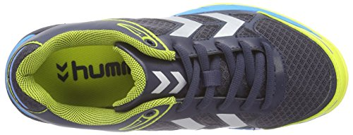 Hummel HUMMEL OMNICOURT Z4, Chaussures indoor mixte adulte Gris - Grau (Graphite 2786)