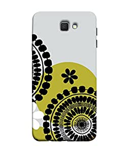 PrintVisa Designer Back Case Cover for Samsung On5 (2016) New Edition For 2017 :: Samsung Galaxy On 5 (2017) (gold glass rich fancy beautiful pattern design)