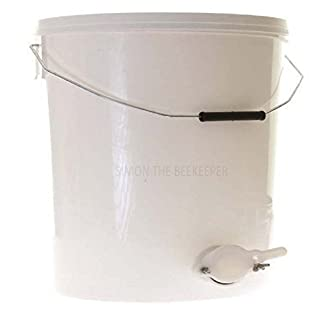 Simon 15L Wire Handle Honey Settling Tank with Valve 8