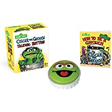 Sesame Street: Oscar the Grouch Talking Button (Running Press Mini Editions)