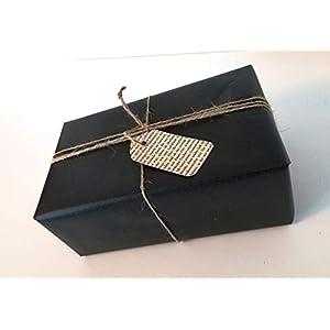 10er-Set Geschenkanhänger aus Buchseiten/Buch Upcycling/Geschenkverpackung/Etikett/Weihnachtsgeschenk