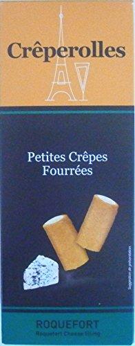 Crêperolles, kleine gefüllte Crêpes mit Roquefort Käsefüllung, 100g