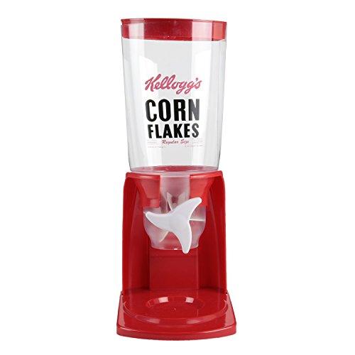 Kellogg's Kelloggs kg3065–Dispensador de Cereales, plástico, Rojo, 15,8x 20,5x 40,2cm