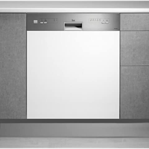 Teka DW8 60 S - Lavavajillas (Totalmente integrado, Acero inoxidable, 49 Db, A, 180 min, A)