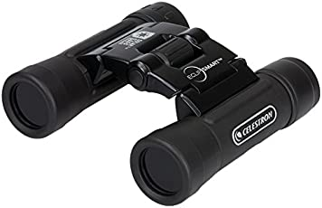 Celestron EclipSmart 2017 North American Total Solar Eclipse Binocular, Black, 10x25 (71237)