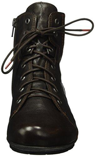 Think! Menscha, Bottes courtes avec doublure chaude femme Marron - Braun (Espresso 41)