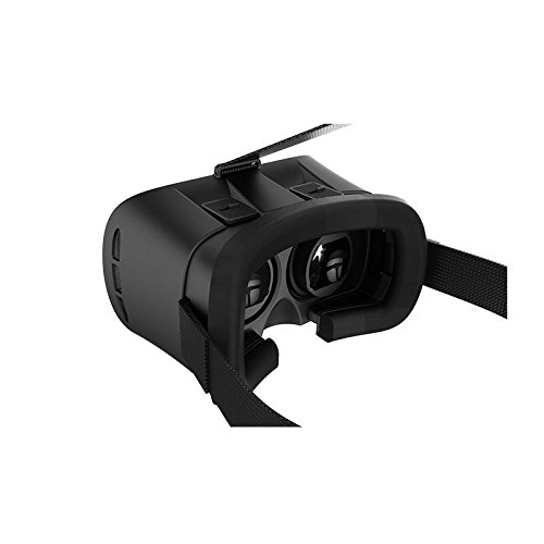 Sonic Audio ® VR Box 2.0 - Genuine Virtual Reality 3D Google Glasses/Helmet/Headset/Goggles for iPhone/Samsung/Smartphones including Bluetooth 3.0 Games Remote Controller