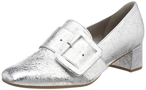 Gabor Shoes Damen Basic Pumps, Mehrfarbig (Silber), 38.5 EU