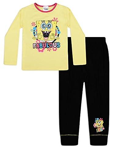 Spongebob Squarepants Pyjamas Girls Pyjama Set (5-6