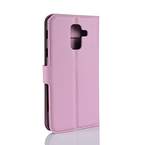 Funda   Capirotazo Billetera Samsung Galaxy A6 Plus 2018  Rosado