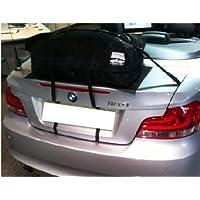 BMW Serie 1Cabrio/Cabriolet vano portabagagli porta alternativa: boot-bag è un impermeabile valigia che semplicemente Cinghia per il bagagliaio
