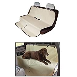 divinezone Car Pet Seat Waterproof Cover For Back Seat Protection For Dog / Cat