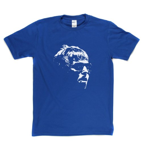 Liam Gallagher Shades Sunglasses Cool Sunnys Iconic Brit T-shirt Königsblau