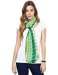 Indistar Premium Soft Vibrant Coloured Trendy Scarf/ Scarves / Stoles/ Dupattas
