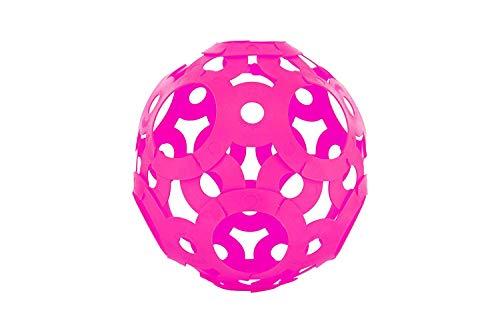 FOOOTY 001PK Faltbarer Ball Rosa -