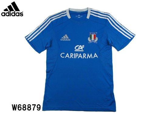 Adidas Italia Camiseta de Abeto de Rugby Performance - XXXL, Azul