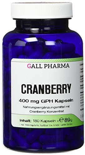 Gall Pharma Cranberry 400 mg GPH Kapseln, 180 Kapseln