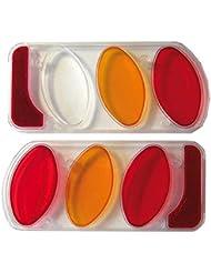 Verre Feu arrière (plastique) gauche & droite pour attelage Peruzzo Multicolore, Set de 2pièces (1)