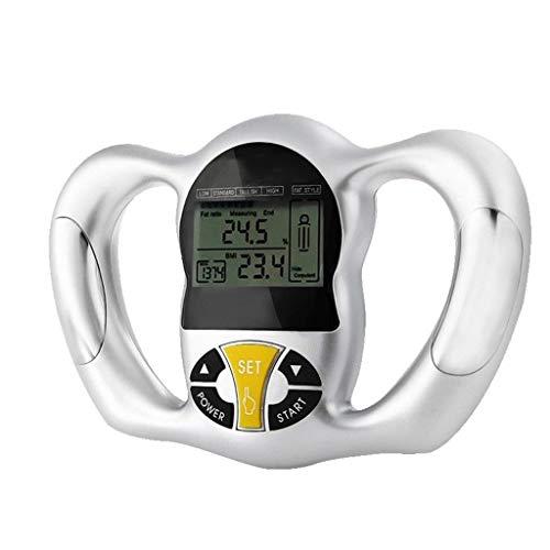 Colorful Körperfettmessgerät Handheld Digitaler Körperfettanalysator Gesundheitsmonitor für Körperfettanteil, BMI, Gesundheit, Fett-Analysegerät