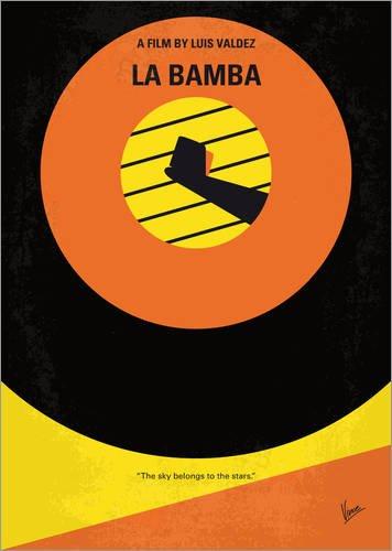 Posterlounge Alubild 60 x 80 cm: La Bamba von chungkong (Die Tag Musik Starb Der)