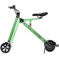 Bicicleta eléctrica Vespa eléctrica Mini Bicicleta Plegable Adulto Coche eléctrico portátil Vespa pequeña Mujer Adulta Bicicleta