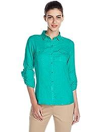 US Polo Women's Button Down Shirt