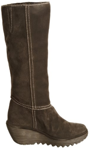 Fly London YOSA P500165 Damen Stiefel Taupe