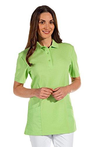 clinicfashion 12812016 Polo-Schlupfhemd hellgrün für Damen, Mischgewebe, Größe L