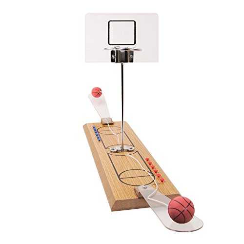 Global Gizmos 50470 Twin Escritorio de Baloncesto Juego Gratuito de Manta