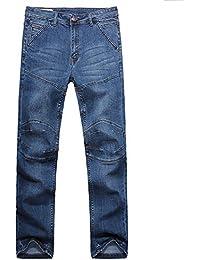 b149bcc533 WJP Stitching Jeans Hombres Jóvenes Recta Recta De Gran Tamaño Stretch Plus  Fertilizante XL Jeans Vaqueros