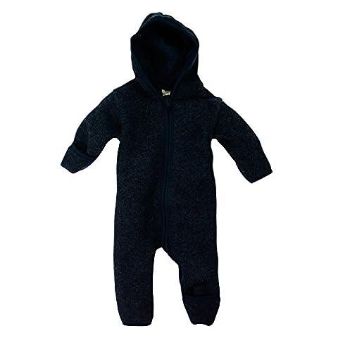 Lilano Overall, Größe 80, Farbe Blau von Wollbody® - 100% Schurwolle kbT - Vertrieb nur durch