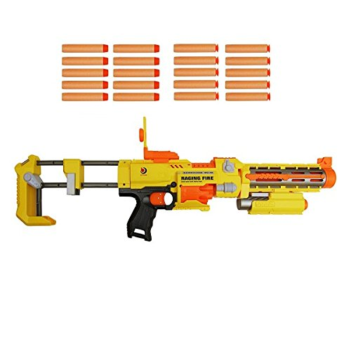 electric-nerf-style-toy-gun-with-laser-sight-semi-automatic-soft-dart-gun