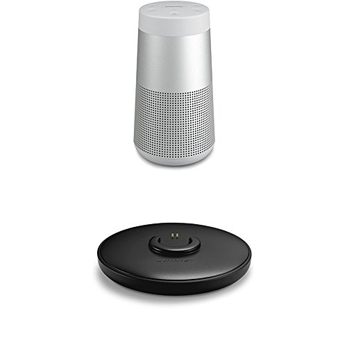 Bose SoundLink Revolve - Altavoz portátil con Bluetooth, color gris + Base...