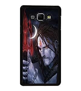 PrintVisa Lord Shri Shiv Shivay High Glossy Designer Back Case Cover for Samsung Galaxy A8 :: Samsung Galaxy A8 Duos :: Samsung Galaxy A8 A800F A800Y